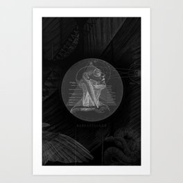 Fx of an Eclipse Art Print