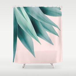 Agave flare Shower Curtain