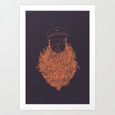 Aye Aye Captain Art Print