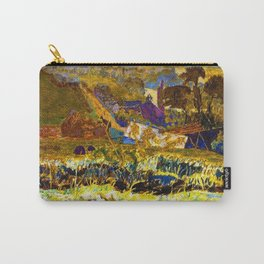 1922 Classical Masterpiece 'Autumn Morning, Vernon' by Pierre Bonnard Carry-All Pouch