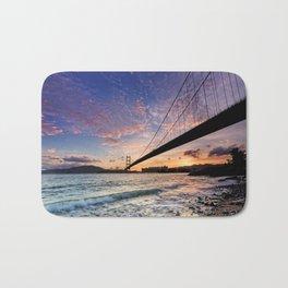 Sunset Bridge Bath Mat
