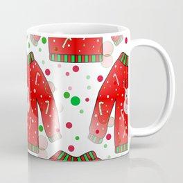 Ugly Christmas Sweater Pattern Coffee Mug