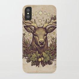 Cernunnos Stag iPhone Case