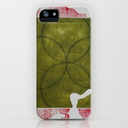Grabado transparente iPhone Case
