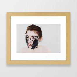 Birthdate Framed Art Print