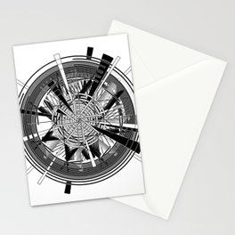 Clock Mechanisms Through The Ages Stationery Cards