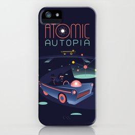 Atomic Autopia iPhone Case