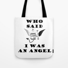 Fifth Harmony angel Tote Bag