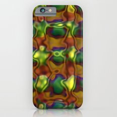 Green motion pattern Slim Case iPhone 6s
