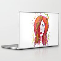 valentina Laptop & iPad Skins featuring Valentina by Laurie Art Gallery