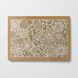 The Golden Mat Metal Print
