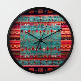 Anthropologie Ortiental Traditional Moroccan Style Artwork Wall Clock