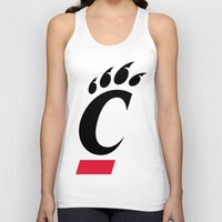 cincinnati Tank Tops featuring NCAA - Cincinnati Bearcats by Katieb1013