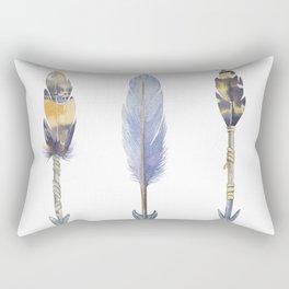 Watercolor bohemian arrows Rectangular Pillow