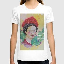 frida y las flores T-shirt