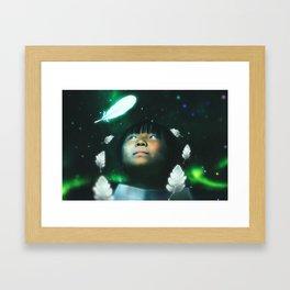 INFINITE WORLD #8 Framed Art Print