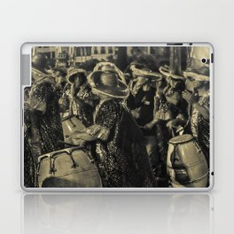 Group of Candombe Drummers at Carnival Parade of Uruguay Laptop & iPad Skin