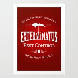 Exterminatus Art Print
