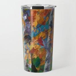 Birch trees - 1 Travel Mug