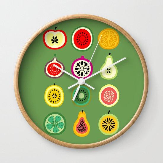 Banca de Frutas Wall Clock
