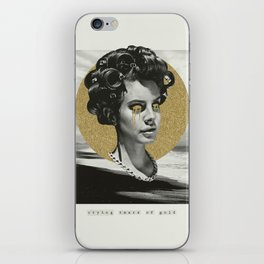 Tears of Gold iPhone Skin