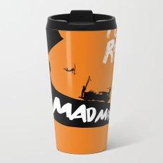 Mad Max Fury Road Minimalist Poster Metal Travel Mug