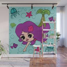 Mermaid Life Wall Mural