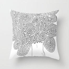 A Tortoise-Tree Throw Pillow