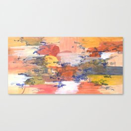 paisaje abstracto Canvas Print