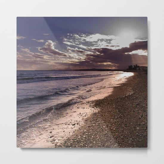 BEACH DAYS XXXX Metal Print