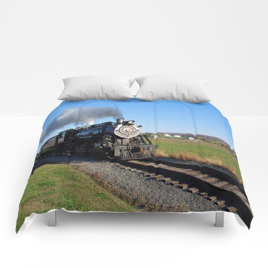 Steam Locomotive Comforters