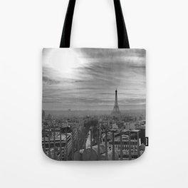 Parisian Skyline Tote Bag
