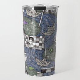 The Boat Race Travel Mug