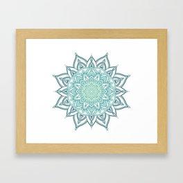 Cool Mandala Framed Art Print