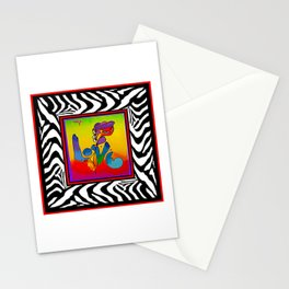 FRAMED PETER MAX Stationery Cards