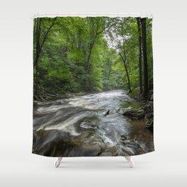 Appalachian Adventure - Ricketts Glen State Park Shower Curtain