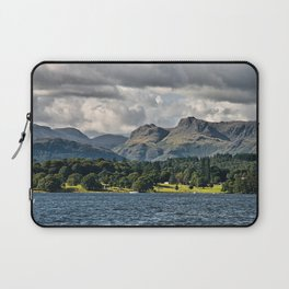 The Langdale Hills from Windermere, Lake District Laptop Sleeve