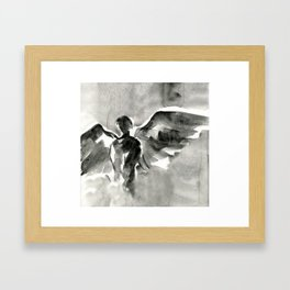 Abstract Angel No.0107 by Kathy Morton Stanion Framed Art Print