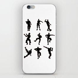 Dance Emotes Battle Fort iPhone Skin