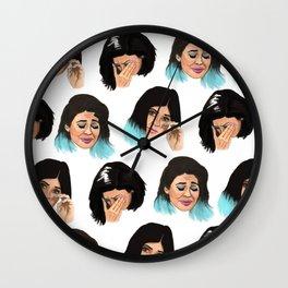Krying Kylie Jenner Wall Clock