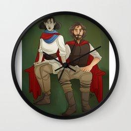 A Portrait Wall Clock