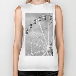 Shattered Ferris Wheel Biker Tank