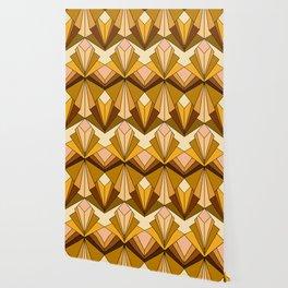 Art Deco meets the 70s - Large Scale Wallpaper