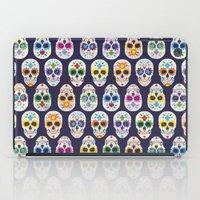 dia de los muertos iPad Cases featuring Dia de los muertos by ewdondoxja