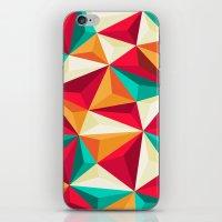 diamond iPhone & iPod Skins featuring Diamond by Azarias
