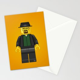 Lego Walter White - Vector Stationery Cards