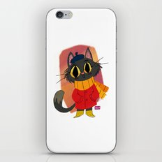 The Little Cat iPhone Skin