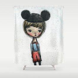 The Happy Boy Shower Curtain