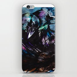 Two Ravens iPhone Skin