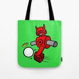 Foosball's the Devil Tote Bag